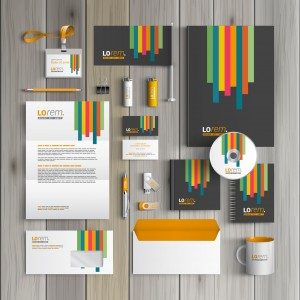 business stationery company identity